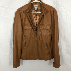 Vintage Chico's Genuine Leather Jacket